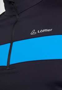 LÖFFLER - MARCO THERMO - Funktionsshirt - black/mauritius - 5