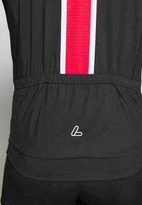 LÖFFLER - BIKE PACE - T-Shirt print - black/red - 5