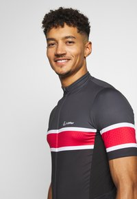 LÖFFLER - BIKE PACE - T-Shirt print - black/red - 3