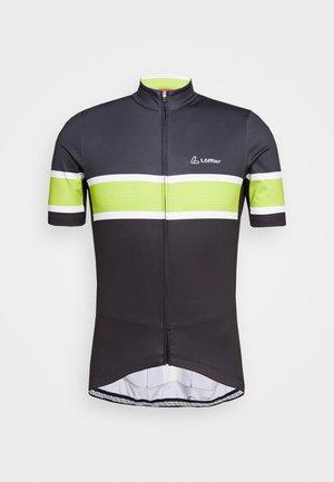 BIKE PACE - T-Shirt print - black/light green