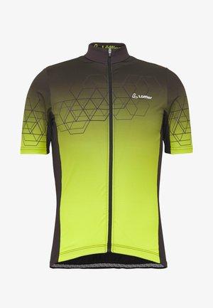 BIKE EVO - T-Shirt print - black/light green