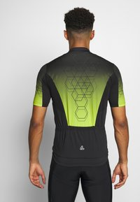 LÖFFLER - BIKE EVO - T-Shirt print - black/light green - 2