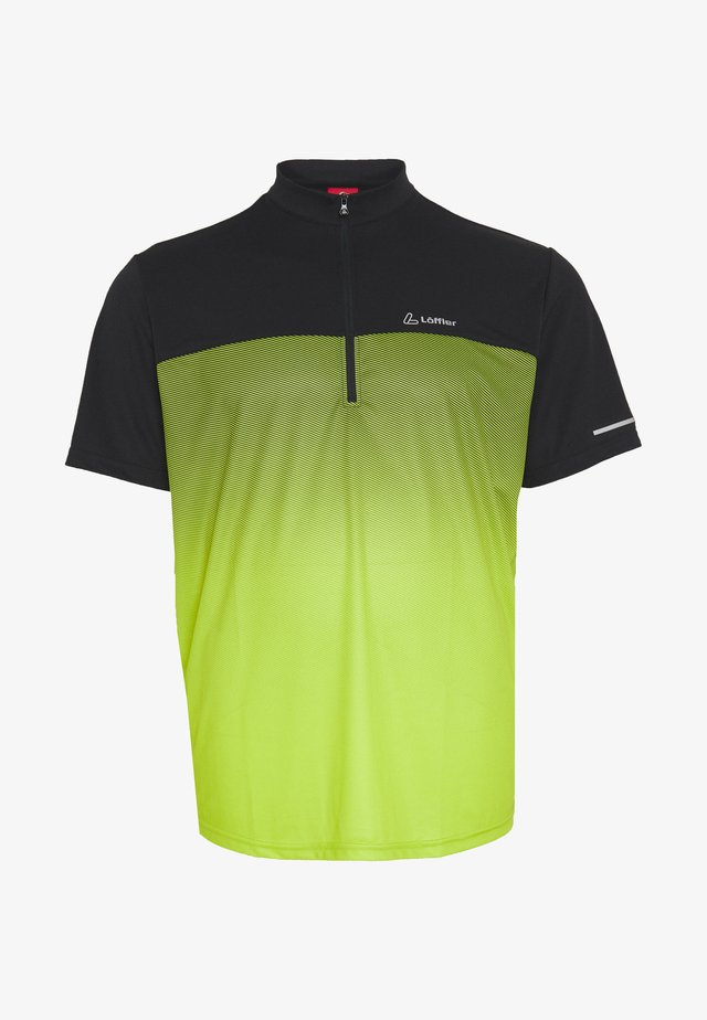 BIKE FLOW - Printtipaita - light green