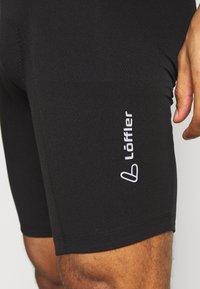 LÖFFLER - BIKE SHORT BASIC - Leggings - black - 4