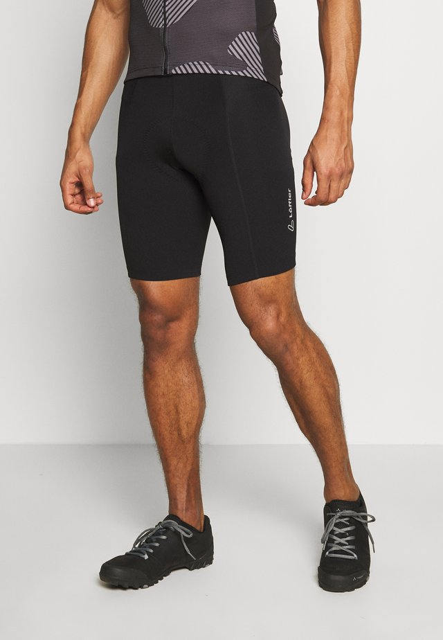 BIKE SHORT BASIC - Punčochy - black