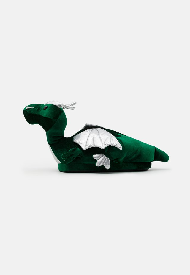 DRAGON SLIPPER - Pantofole - green
