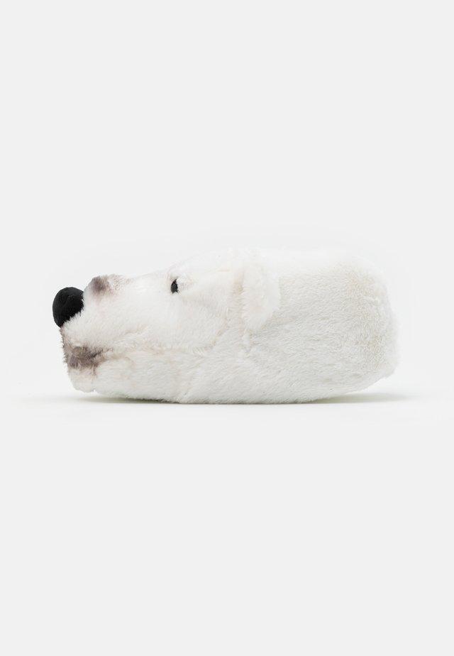 POLAR BEAR SLIPPER - Pantofole - white