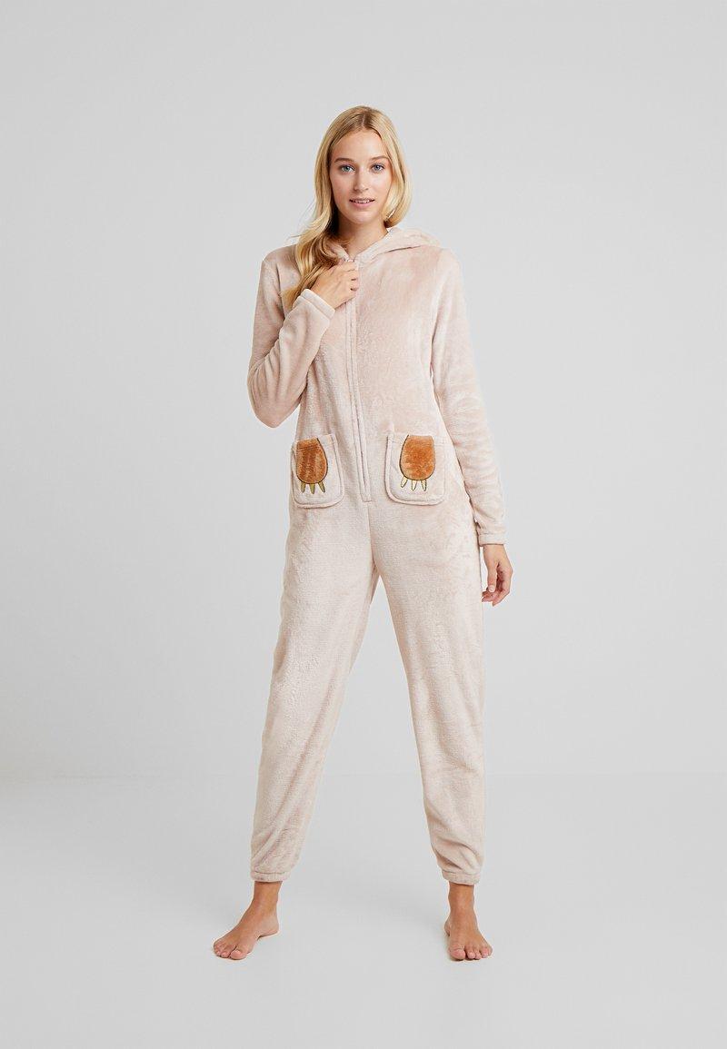 Loungeable - SLOTH ONESIE - Pyjamas - beige