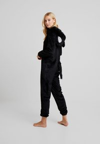 Loungeable - CAT ONESIE - Pyjama - black - 2