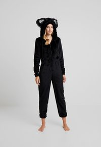 Loungeable - CAT ONESIE - Pyjama - black - 1