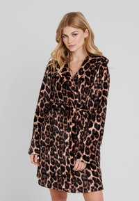 Loungeable - LEOPARD ROBE - Dressing gown - multi - 0