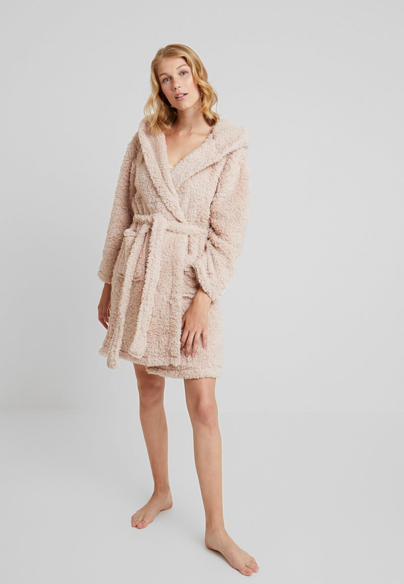 Loungeable - CHUNKY EAR ROBE - Dressing gown - nude