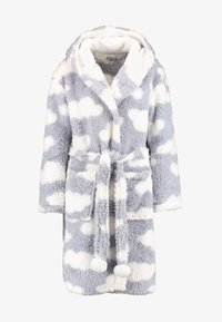 Loungeable - CHUNKY SHERPA CLOUD ROBE - Dressing gown - blue/white - 3