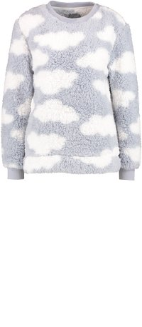 Loungeable - CHUNKY SHERPA CLOUD SET - Pigiama - silver - 6