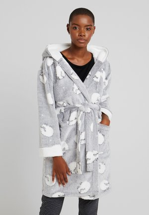 SHEEP ROBE - Dressing gown - grey