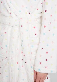Loungeable - MULTI SPOT HOODED ROBE - Dressing gown - cream - 5