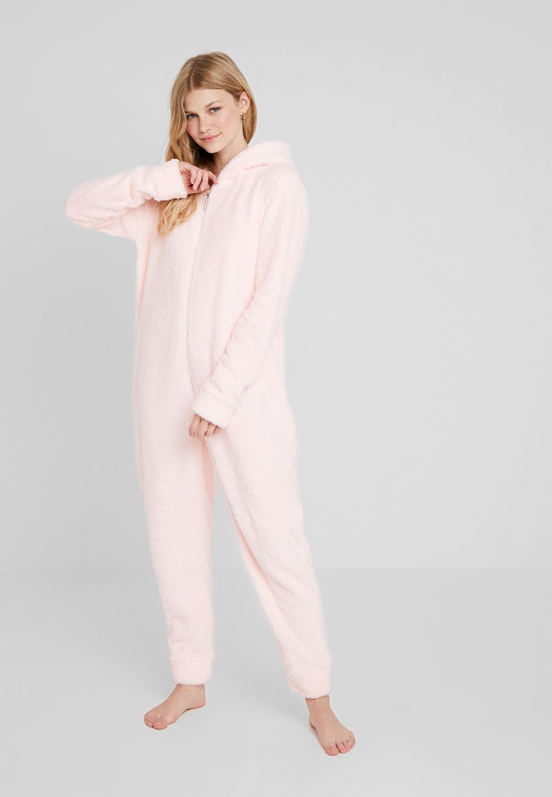 Loungeable - MOUSE ONESIE WITH EARS - Pyjamas - pink