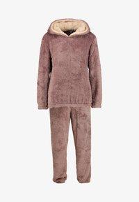 Loungeable - 3D REINDEER SHERPA SET - Pyjama - brown - 7