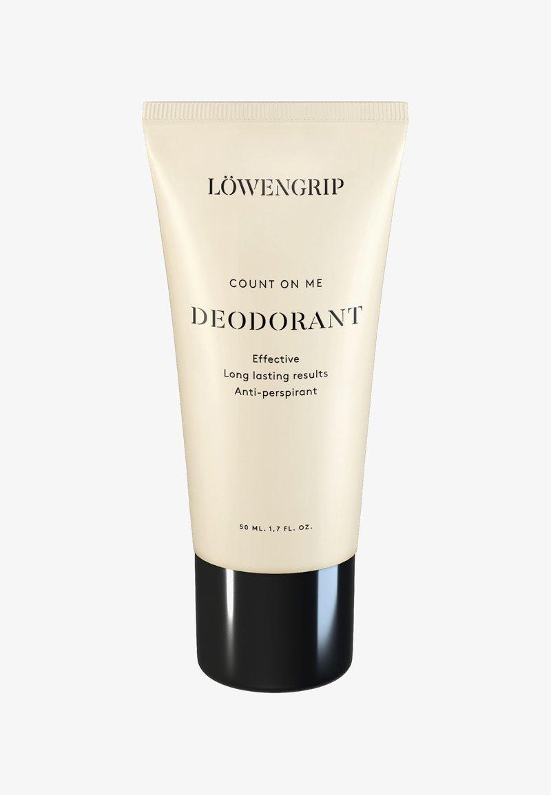 Löwengrip - COUNT ON ME - DEODORANT 50ML - Deodorante - -