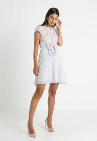 Lipstick boutique - CAMINA - Koktejlové šaty/ šaty na párty - grey - 2