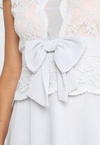 Lipstick boutique - CAMINA - Koktejlové šaty/ šaty na párty - grey - 5