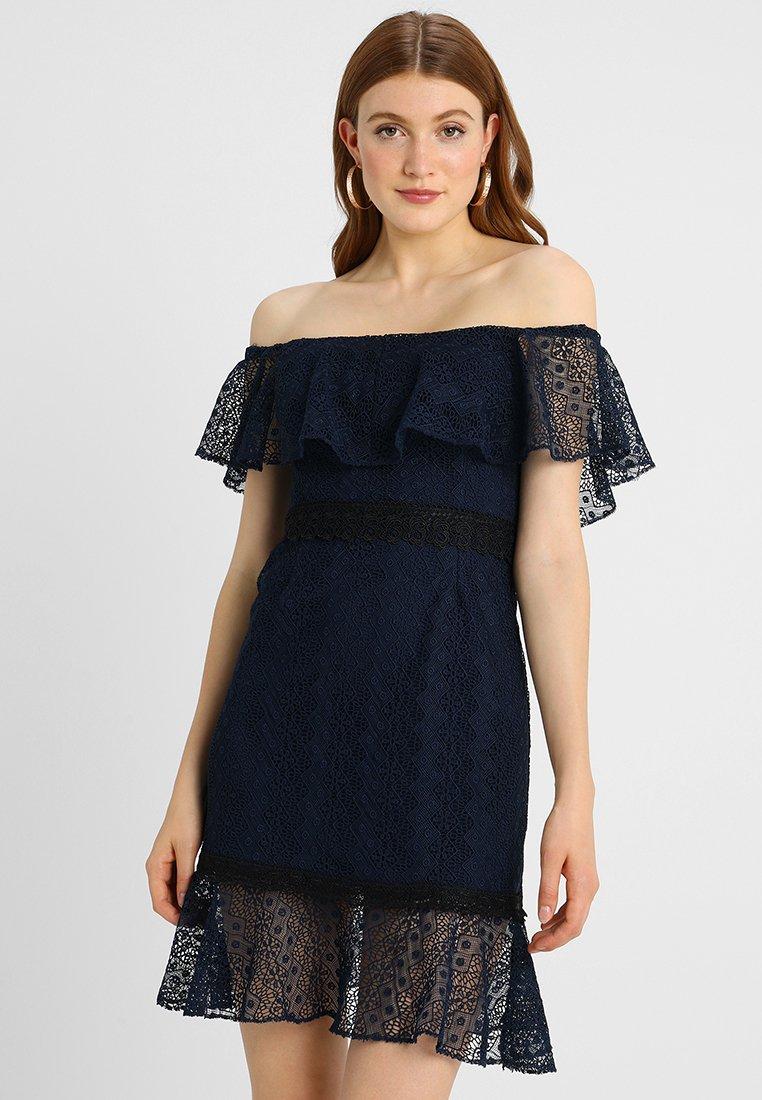 Lipstick boutique - JINA - Koktejlové šaty/ šaty na párty - navy