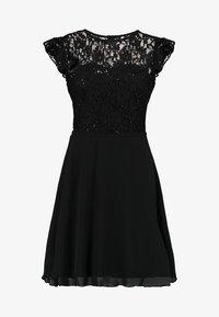 Lipstick boutique - KILA - Koktejlové šaty/ šaty na párty - black - 4