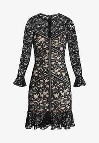 Lipstick boutique - DEE - Koktejlové šaty/ šaty na párty - black/nude - 4