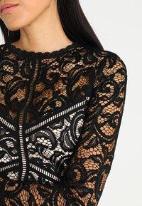 Lipstick boutique - DEE - Koktejlové šaty/ šaty na párty - black/nude - 5