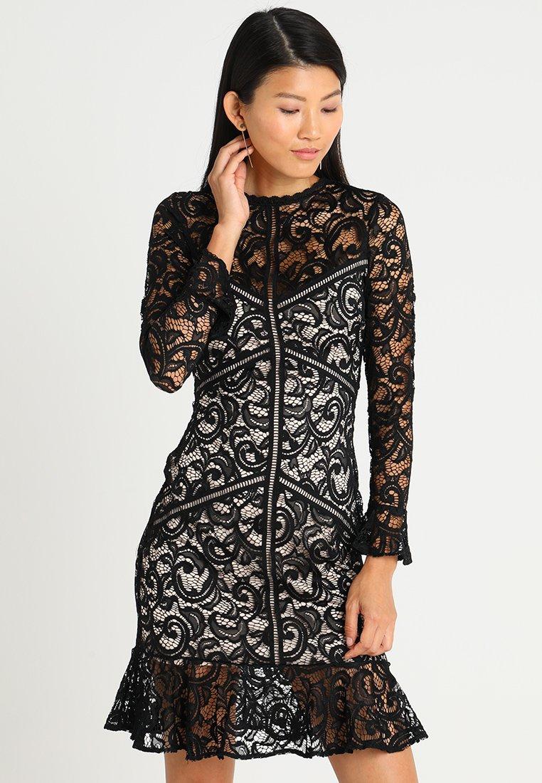 Lipstick boutique - DEE - Koktejlové šaty/ šaty na párty - black/nude