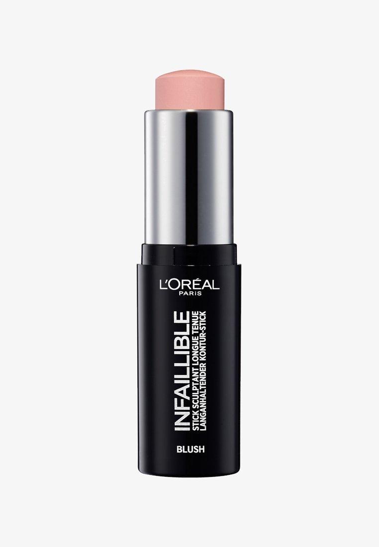 L'Oréal Paris - INFAILLIBLE CONTOUR STICK BLUSH - Blusher - 01 sexy flush