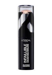 L'Oréal Paris - INFAILLIBLE CONTOUR STICK HIGHLIGHTER - Rozświetlacz - 503 slay in rose - 1