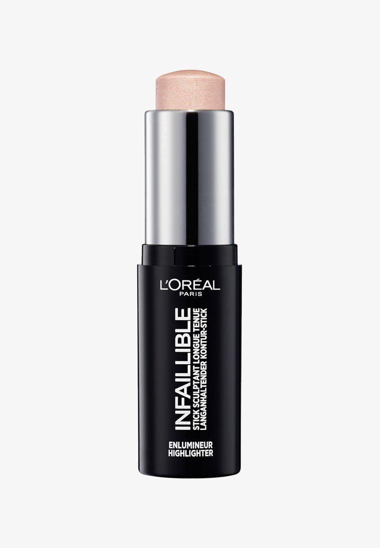 L'Oréal Paris - INFAILLIBLE CONTOUR STICK HIGHLIGHTER - Rozświetlacz - 503 slay in rose