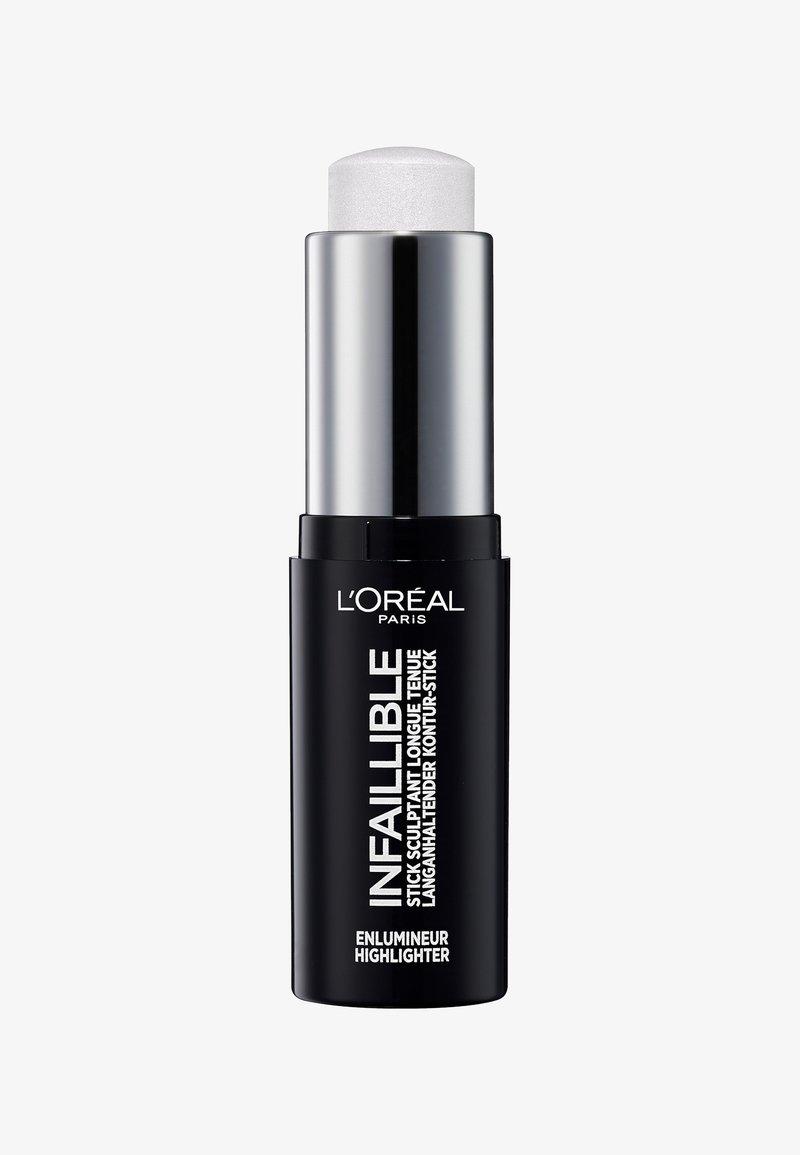 L'Oréal Paris - INFAILLIBLE CONTOUR STICK HIGHLIGHTER - Highlighter - 500 frozen
