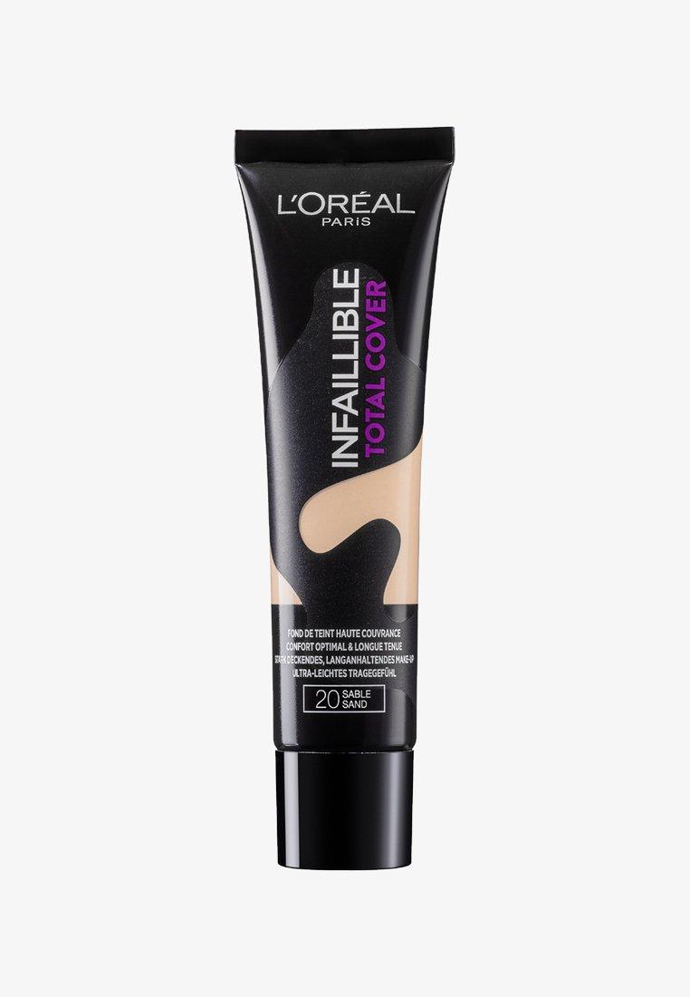 L'Oréal Paris - INFAILLIBLE TOTAL COVER FOUNDATION - Foundation - 20 sable