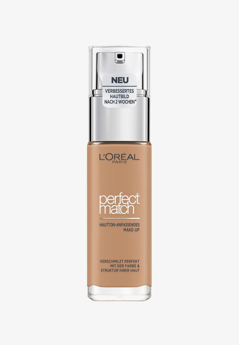 L'Oréal Paris - PERFECT MATCH MAKE-UP - Foundation - 7w golden amber