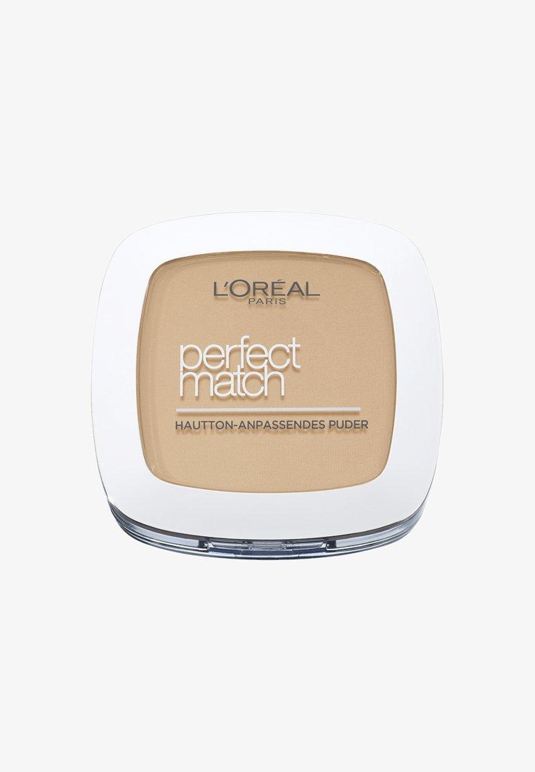 L'Oréal Paris - PERFECT MATCH POWDER - Poudre - 4n beige