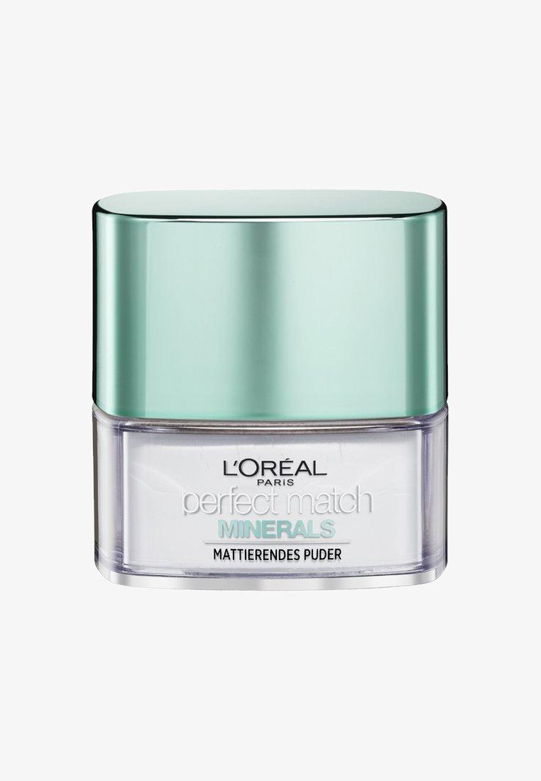 L'Oréal Paris - PERFECT MATCH MINERALS FINISHING - Poudre - translucent