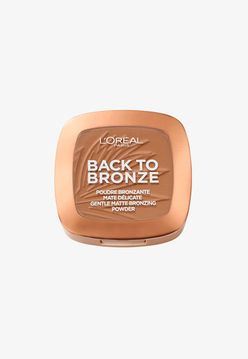 L'Oréal Paris - BACK TO BRONZE GENTLE MATTE BRONZING POWDER - Bronzeur - 02 sunkissed