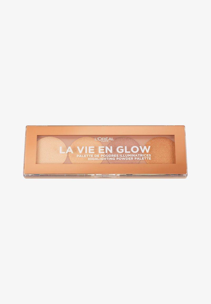 L'Oréal Paris - LA VIE EN GLOW HIGHLIGHTER PALETTE - Face palette - 1