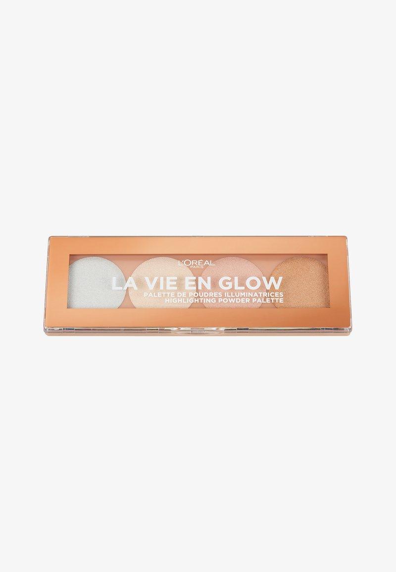 L'Oréal Paris - LA VIE EN GLOW HIGHLIGHTER PALETTE - Face palette - 2