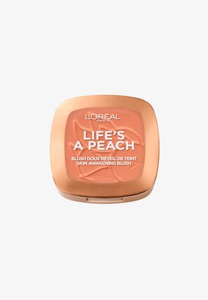 LIFE'S A PEACH BLUSH - Rouge - peach