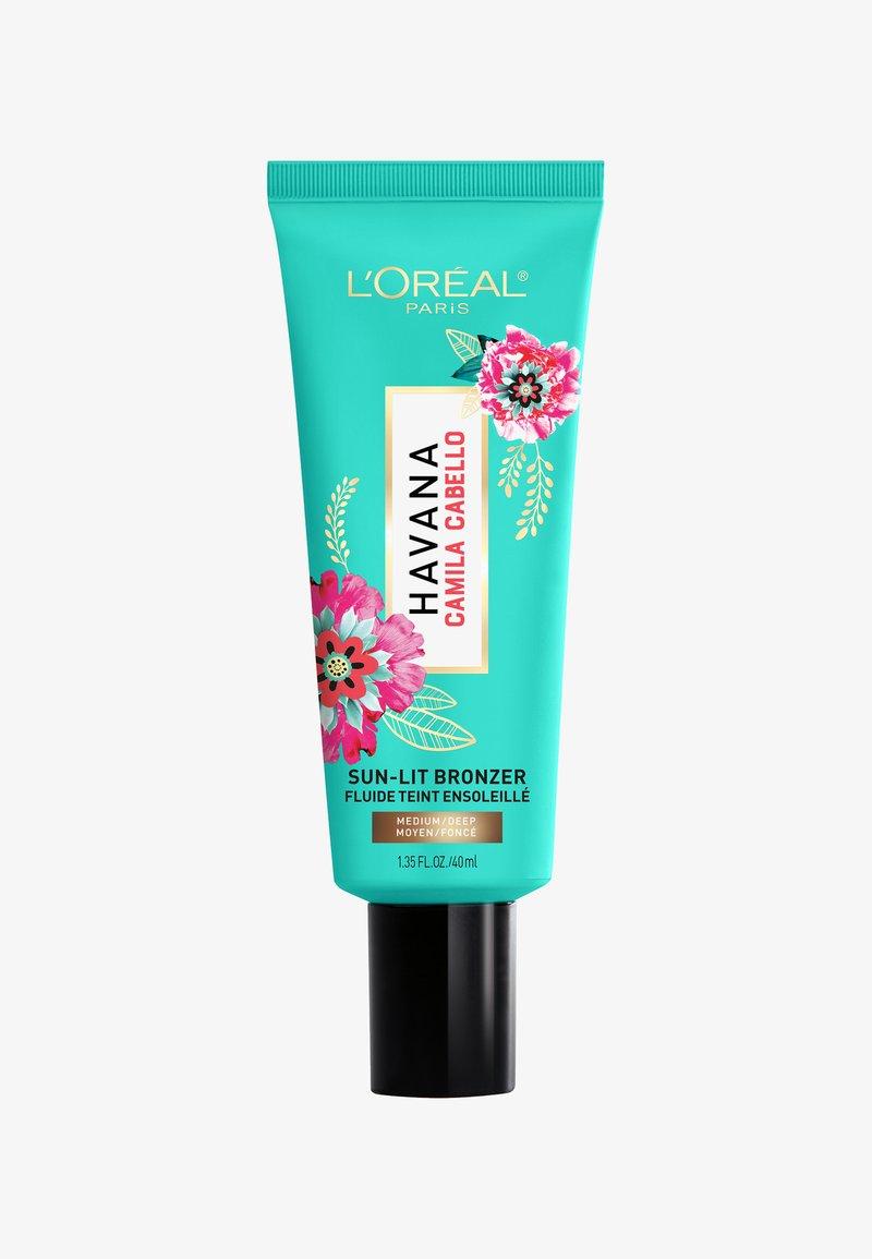 L'Oréal Paris - SUN-LIT BRONZER CAMILA - Bronzeur - 02 medium-dark
