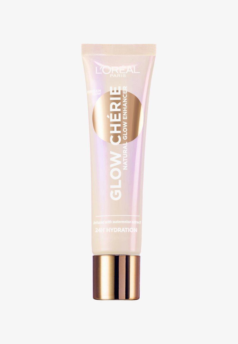 L'Oréal Paris - LET'S GLOW CHÉRIE NATURAL GLOW FLUID - Hightlighter - 01 porcelain glow