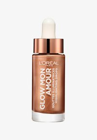 L'Oréal Paris - GLOW MON AMOUR HIGHLIGHTING DROPS - Hightlighter - 02 loving peach - 0