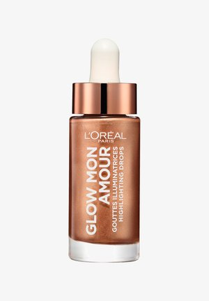 GLOW MON AMOUR HIGHLIGHTING DROPS - Hightlighter - 02 loving peach