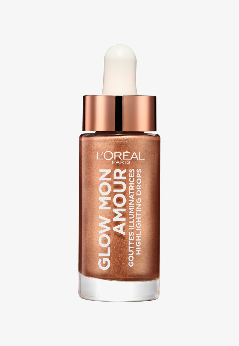 L'Oréal Paris - GLOW MON AMOUR HIGHLIGHTING DROPS - Hightlighter - 02 loving peach