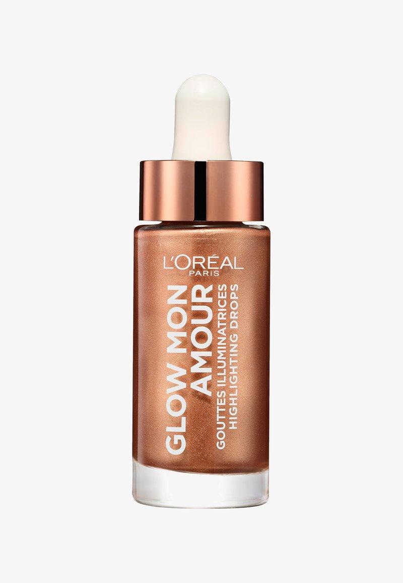 L'Oréal Paris - GLOW MON AMOUR HIGHLIGHTING DROPS - Highlighter - 02 loving peach