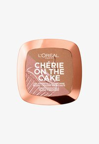 L'Oréal Paris - CHÉRIE ON THE CAKE BLUSH & BRONZER - Rouge - 01 cherry fever - 0