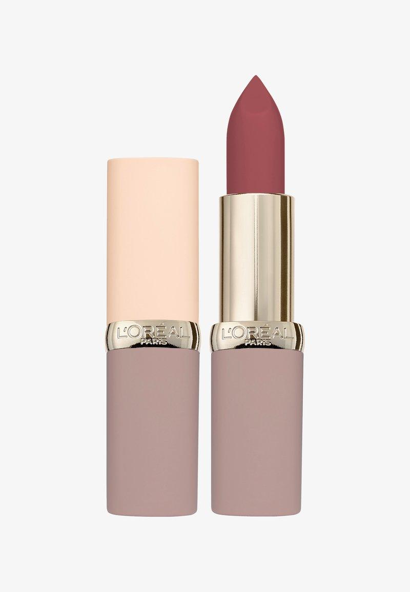 L'Oréal Paris - COLOR RICHE ULTRA MATTE FREE THE NUDES - Lipstick - 06 no hesitation